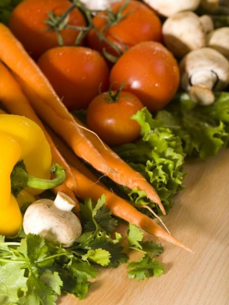 правильное вегетарианское питание меню
